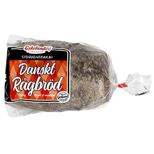 danskt rågbröd kalorier